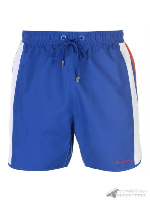 Quần đi biển Pierre Cardin Panelled Swim Short Cobalt/White/Red