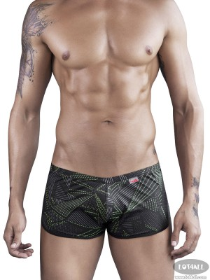 Quần lót nam Pikante 8432 Vintage Anthem Boxer Brief Black