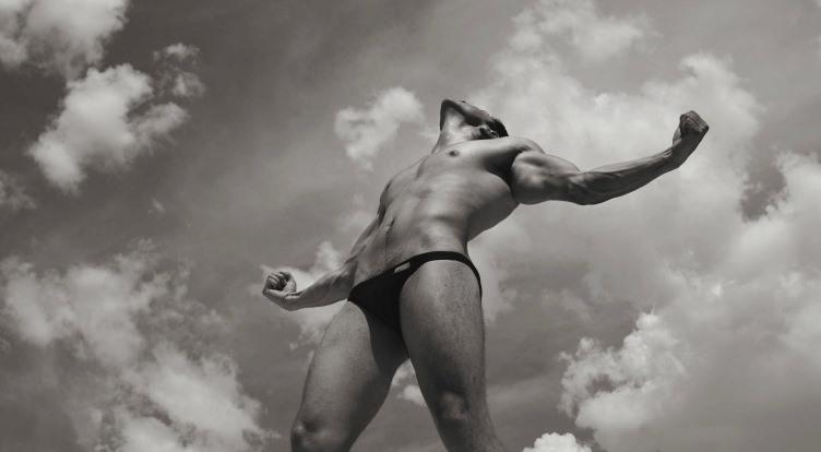 Men and underwear
