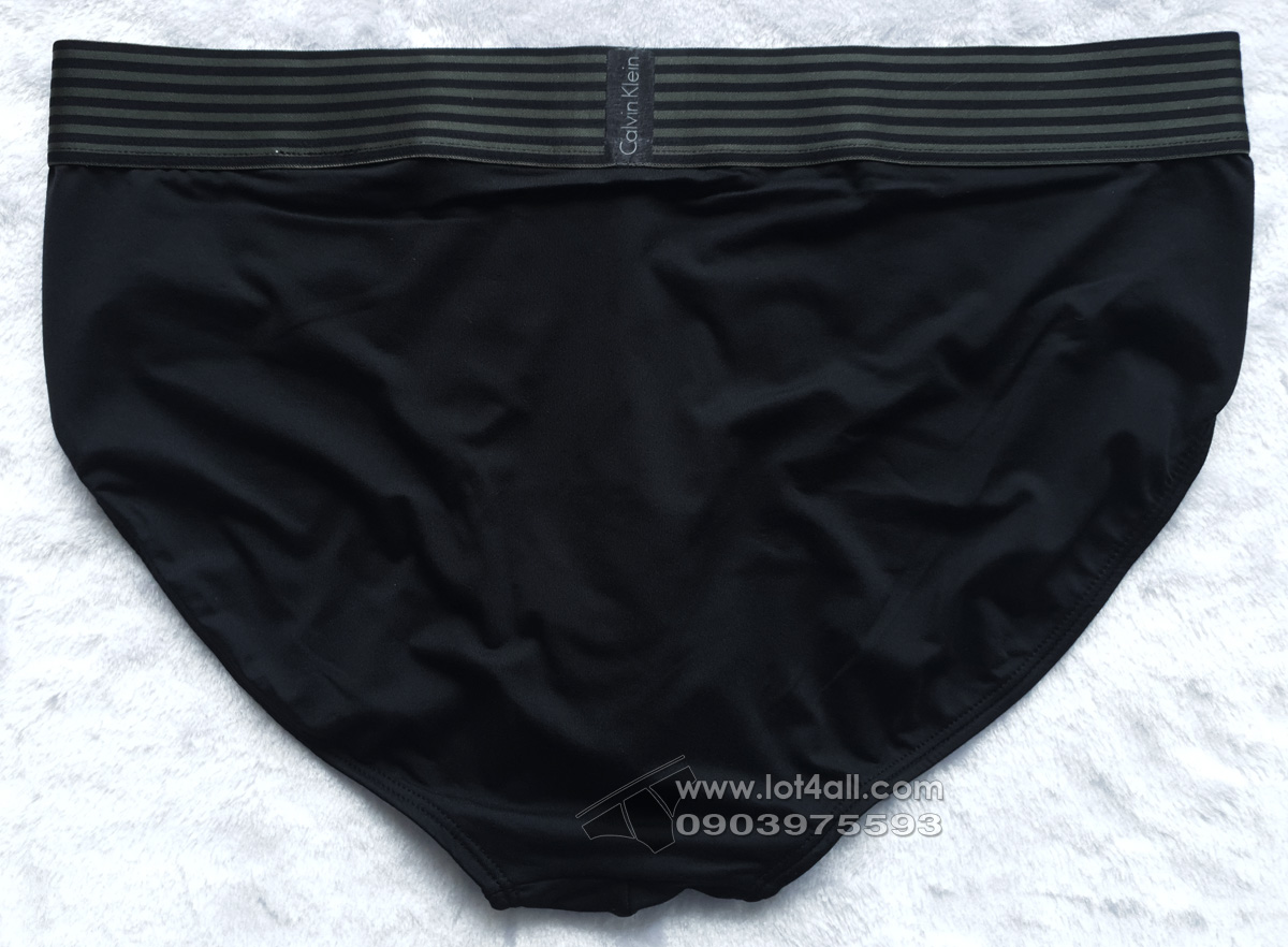 Quần lót nam Calvin Klein NB1019 Iron Strength Micro Hip Brief Black