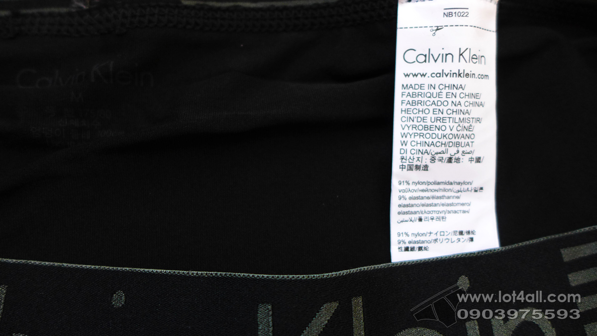 Quần lót nam Calvin Klein NB1022 Iron Strength Micro Boxer Brief Black