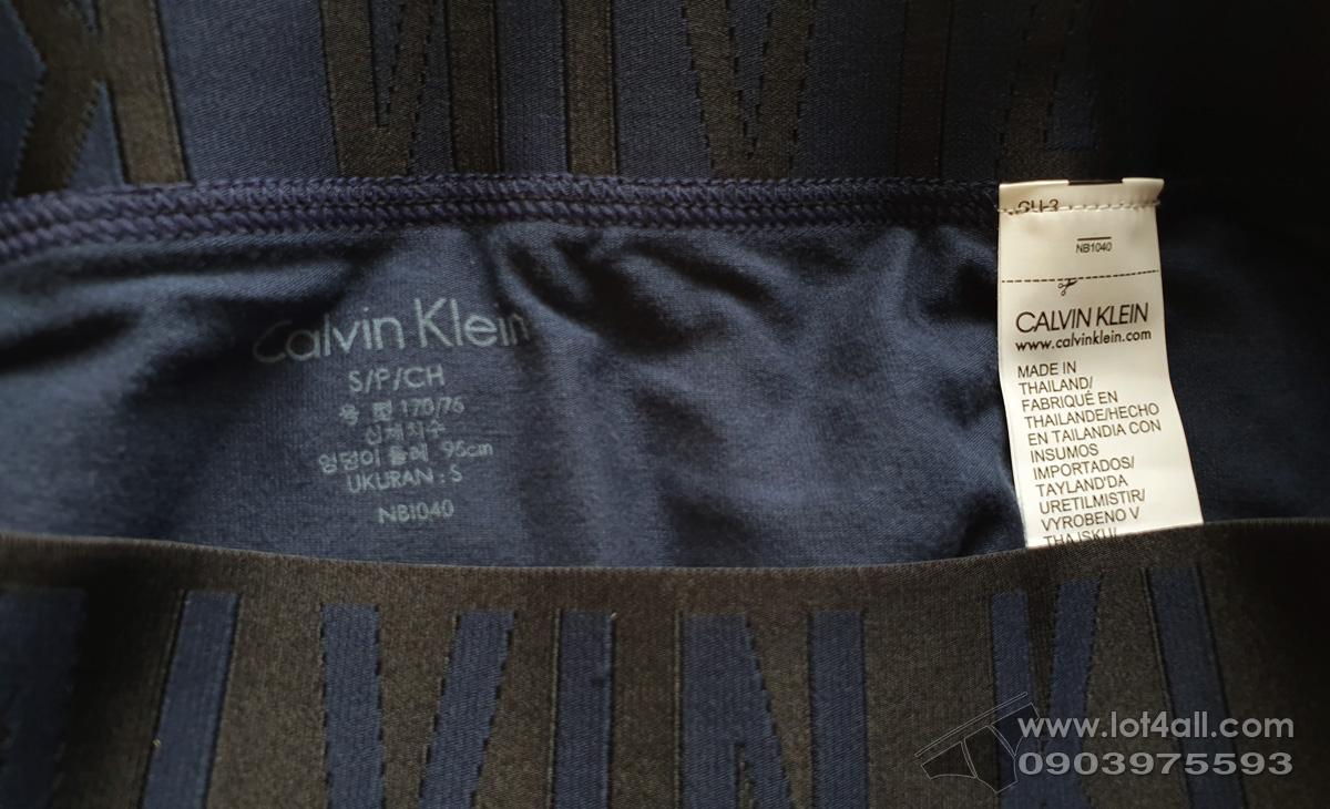 Quần lót nam Calvin Klein NB1040 Intense Power Cotton Hip Brief Blue Shadow