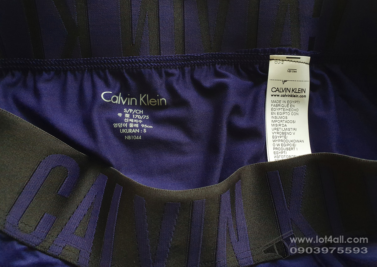 Quần lót nam Calvin Klein NB1044 Intense Power Micro Hip Brief Purple Night