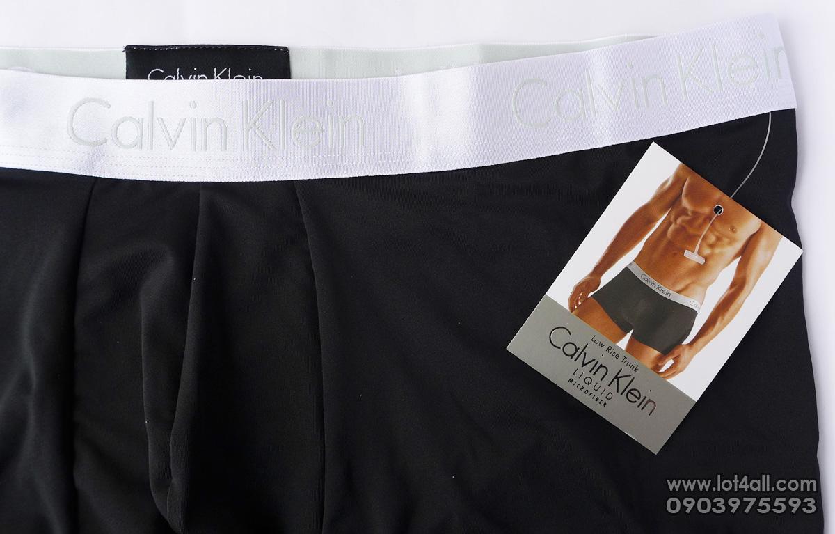 Quần lót Calvin Klein NB1196 Liquid Micro Low Rise Trunk Black