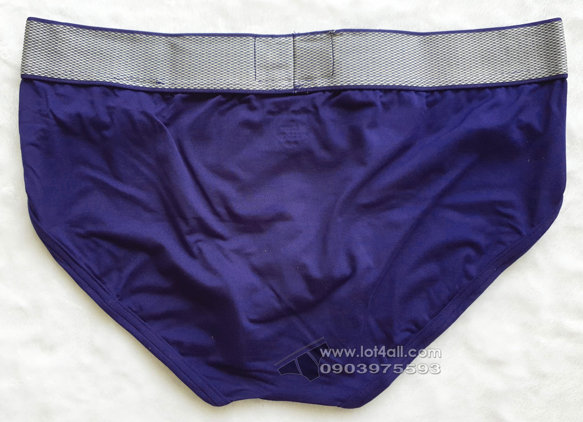 Quần lót nam Calvin Klein NB1294 Customized Stretch Hip Brief Purple Night