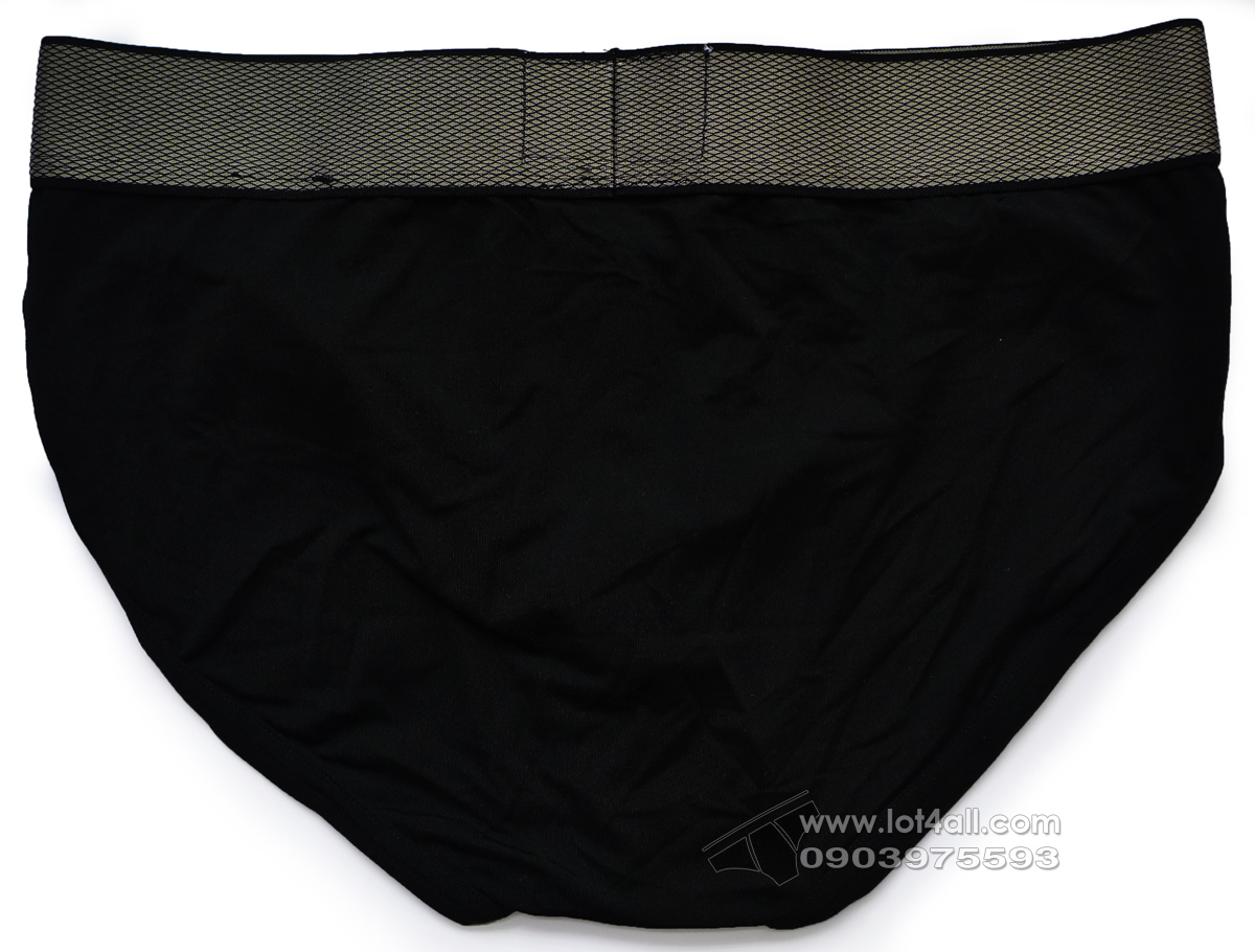 Quần lót nam Calvin Klein NB1294 Customized Stretch Hip Brief Black