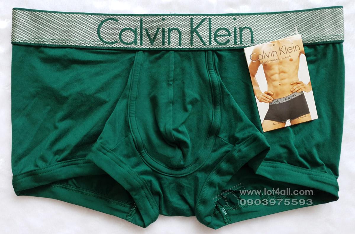 Quần lót nam Calvin Klein NB1295 Customized Stretch Low Rise Trunk Georgia
