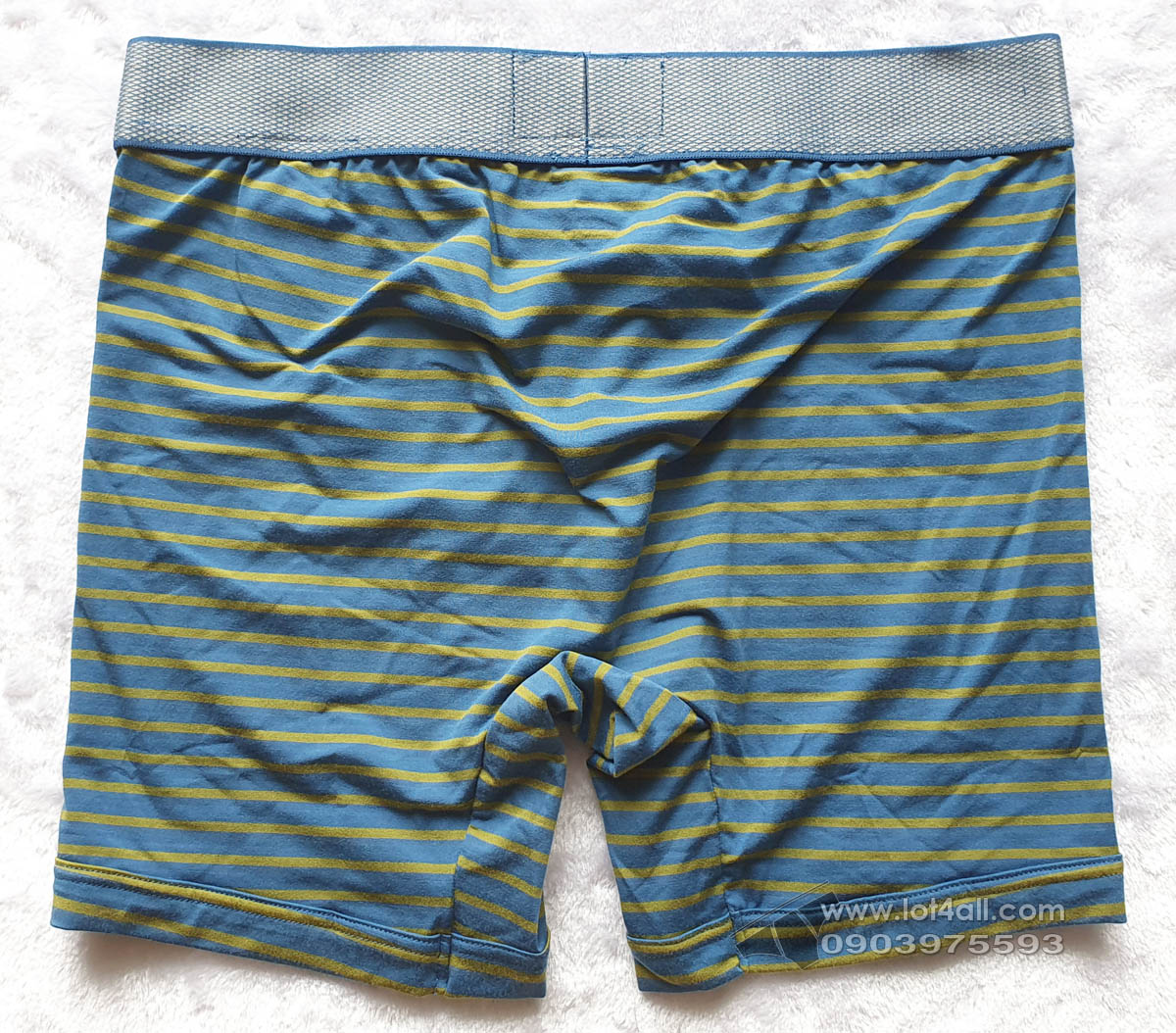 Quần lót nam Calvin Klein NB1296 Customized Stretch Micro Boxer Brief Tempe Blue