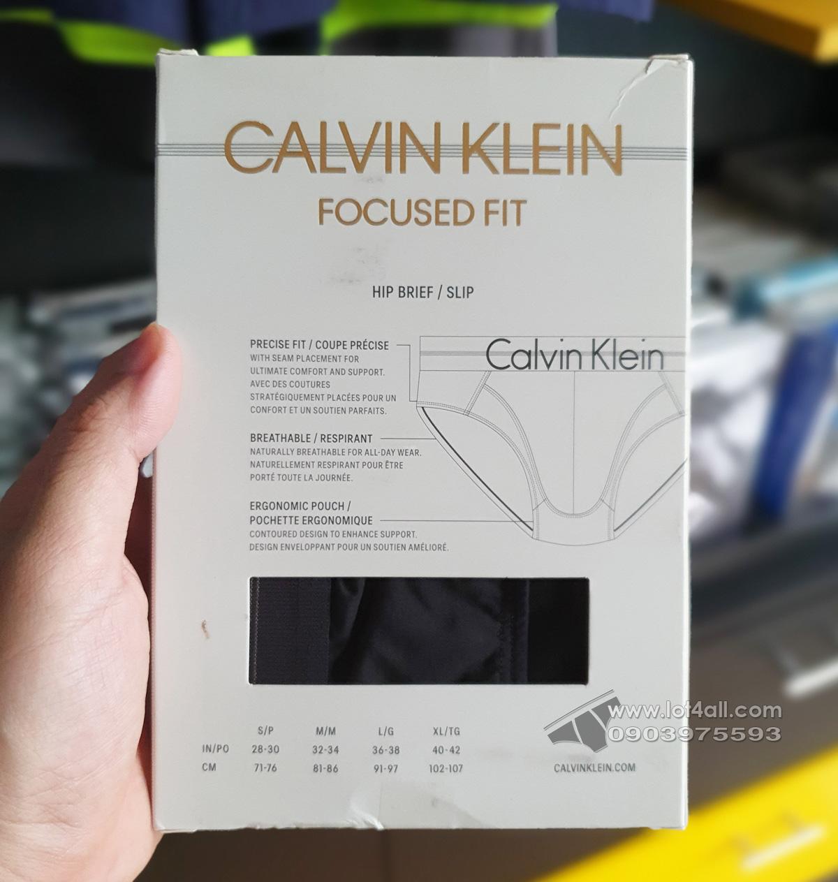 Quần lót nam Calvin Klein NB1485 Focused Fit Micro Hip Brief Black