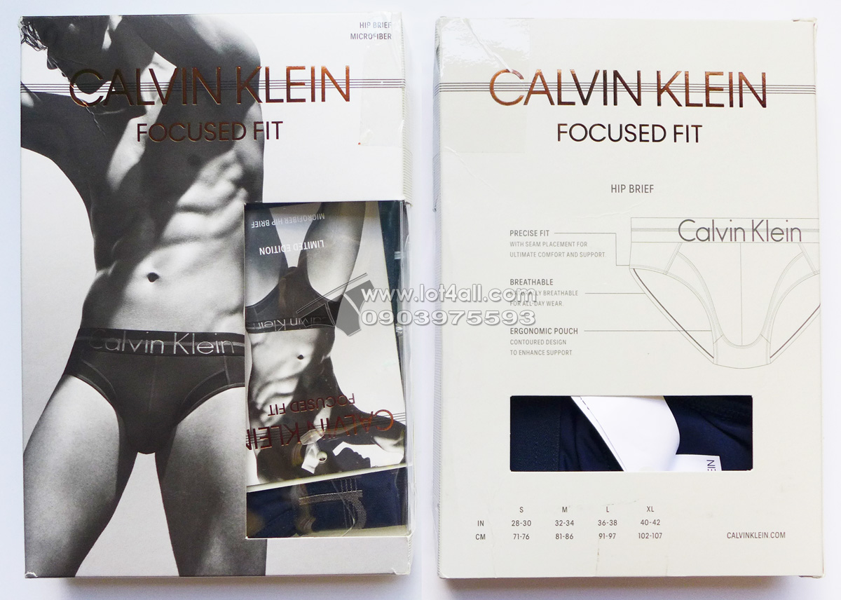 Quần lót nam Calvin Klein NB1485 Focused Fit Hip Brief Blue Shadow