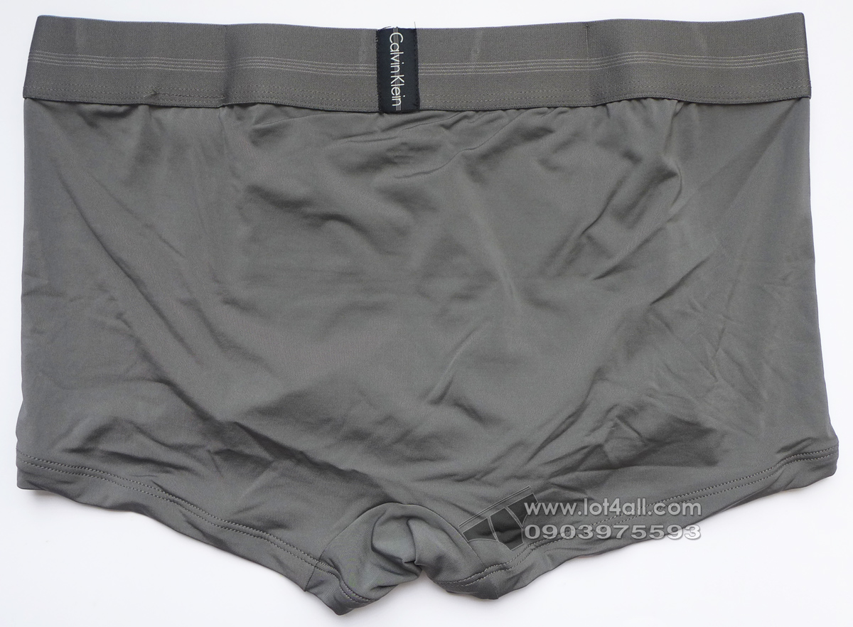 Quần lót nam Calvin Klein NB1486 Focused Fit Low Rise Trunk Grey Sky