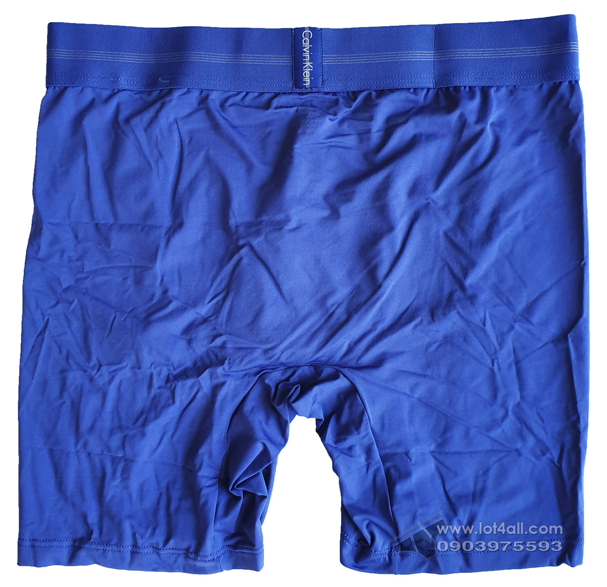 Quần lót nam Calvin Klein NB1487 Focused Fit Micro Boxer Brief Blue Nova