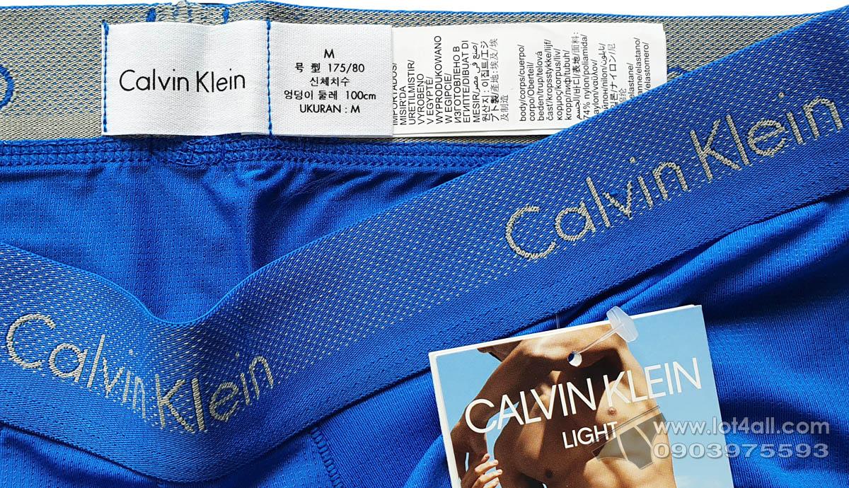 Quần lót nam Calvin Klein NB1498 Light Low Rise Boxer Brief Dover Blue