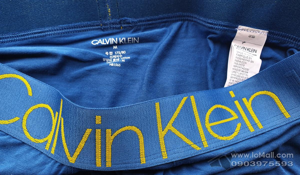 Quần lót Calvin Klein NB1565 Evolution Cotton Trunk Downpour