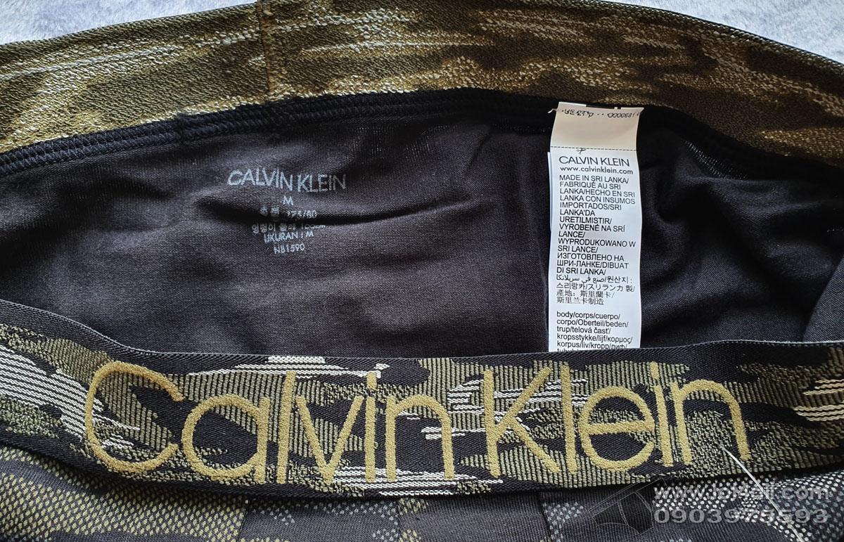 Quần lót Calvin Klein NB1590 Camo Cotton Trunk
