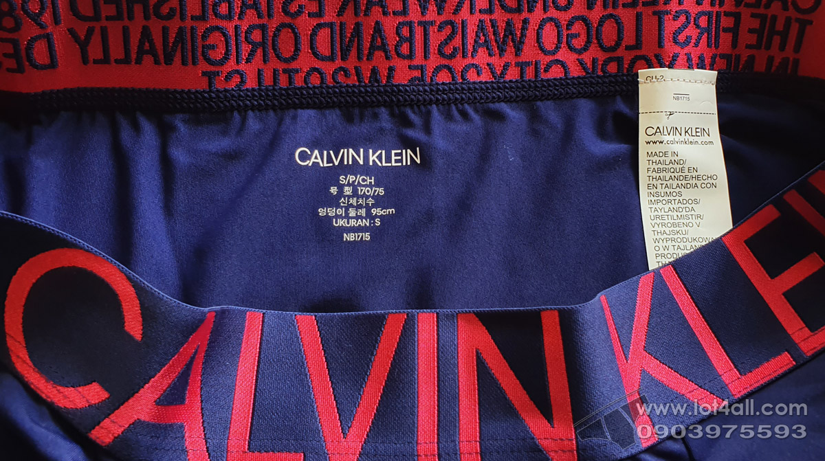 Quần lót nam Calvin Klein NB1715 Statement 1981 Micro Boxer Brief Purple Night