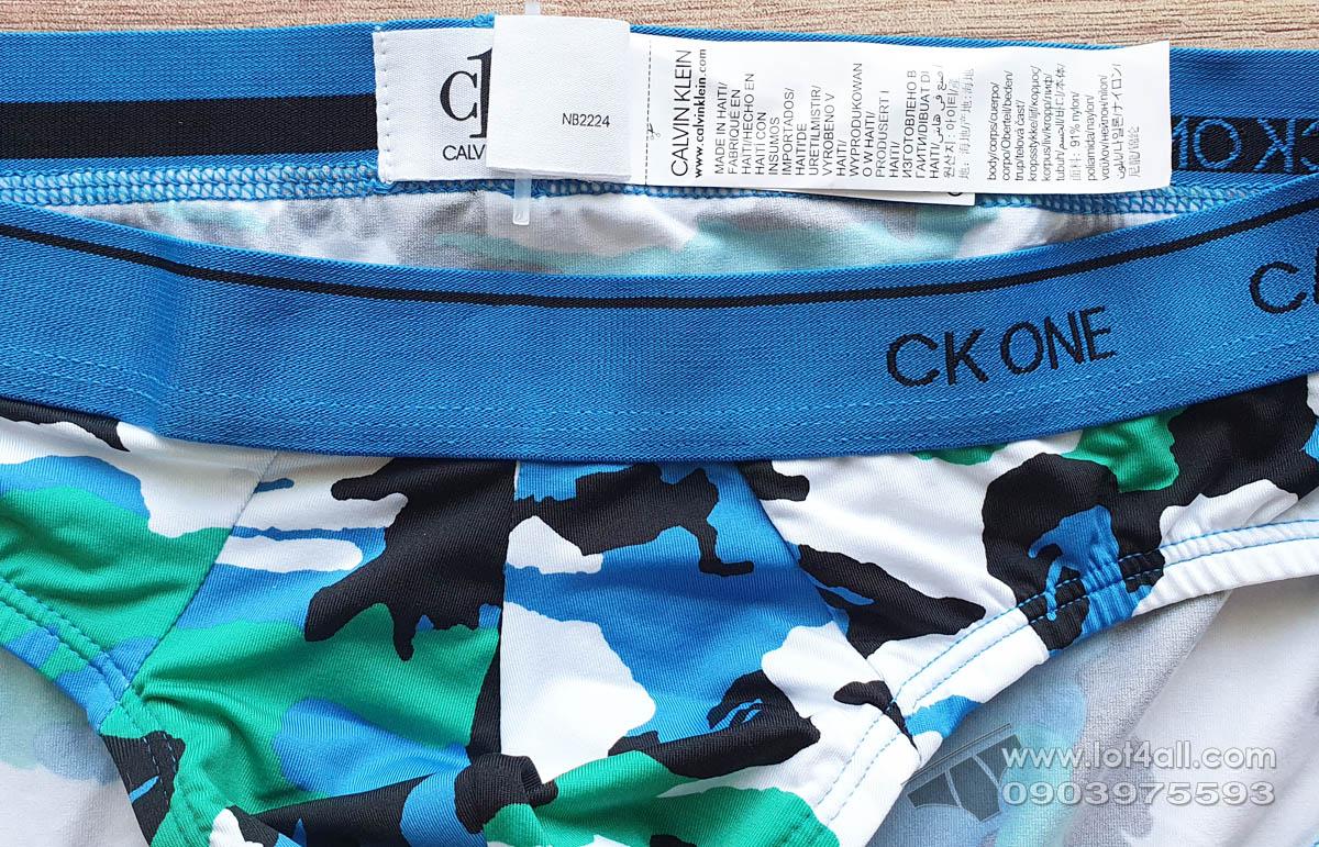 Quần lót nam Calvin Klein NB2224 CK One Micro Hip Brief Fergus Camo Chilmark