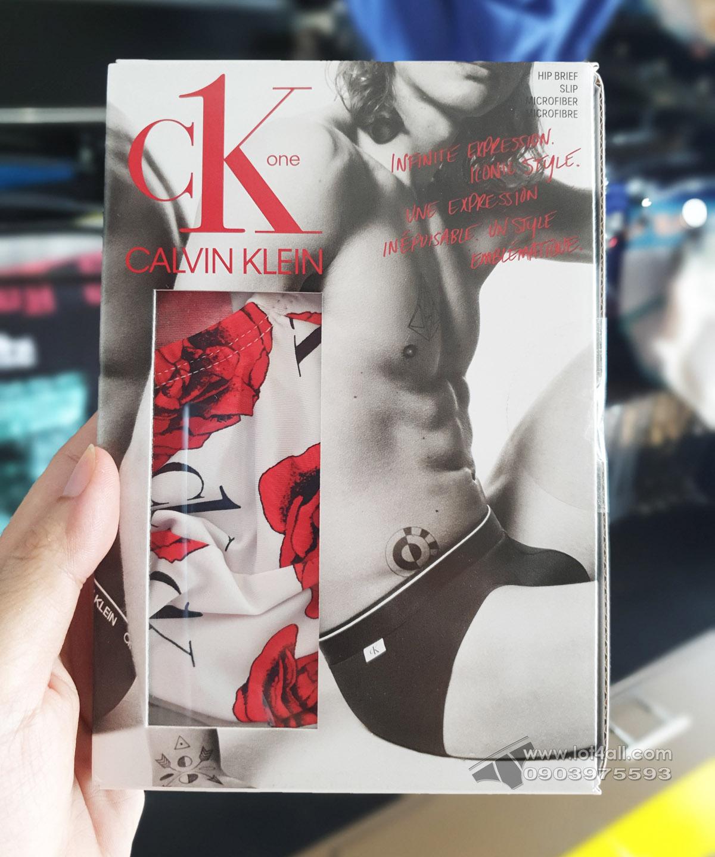 Quần lót nam Calvin Klein NB2224 CK One Micro Hip Brief Charming Roses
