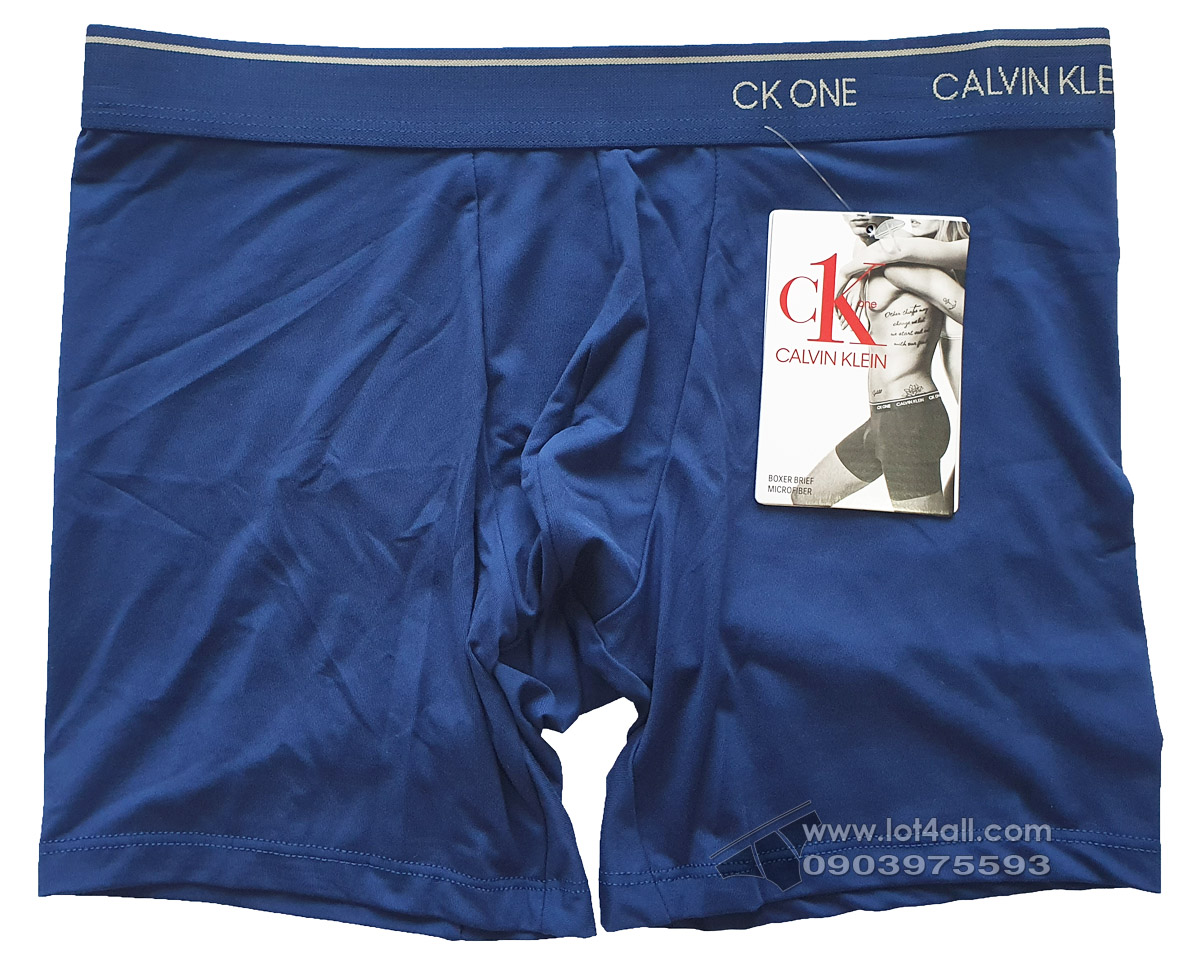Quần lót nam Calvin Klein NB2226 CK One Micro Boxer Brief Perth Blue