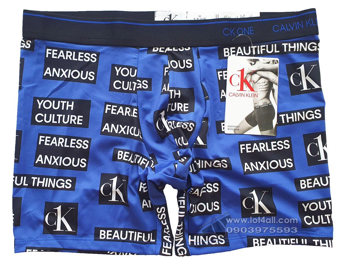 Quần lót nam Calvin Klein NB2226 CK One Micro Boxer Brief Culture Logo Print
