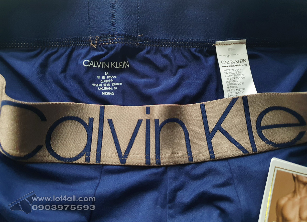 Quần lót Calvin Klein NB2540 Icon Micro Low Rise Trunk New Navy