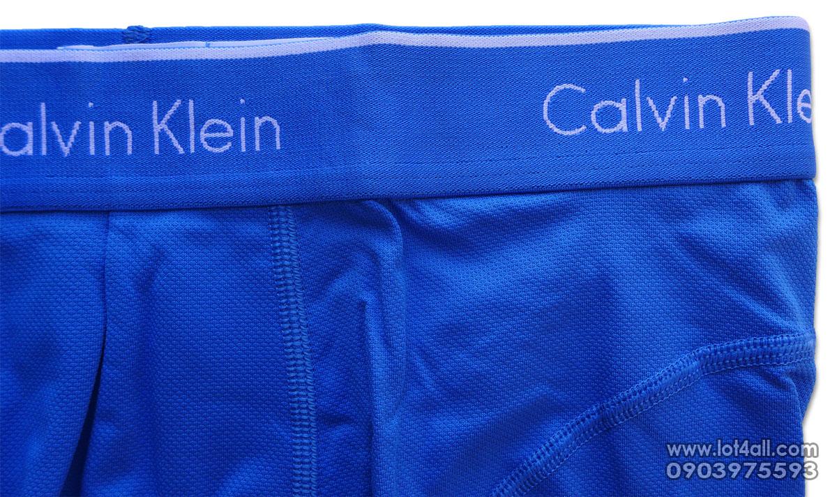 Quần lót nam Calvin Klein NP1926O Athletic Microfiber Trunk Blue