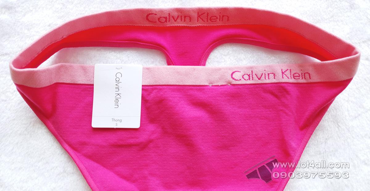 Quần lót nữ Calvin Klein QD3544 Pure Seamless Thong Panty Thrill