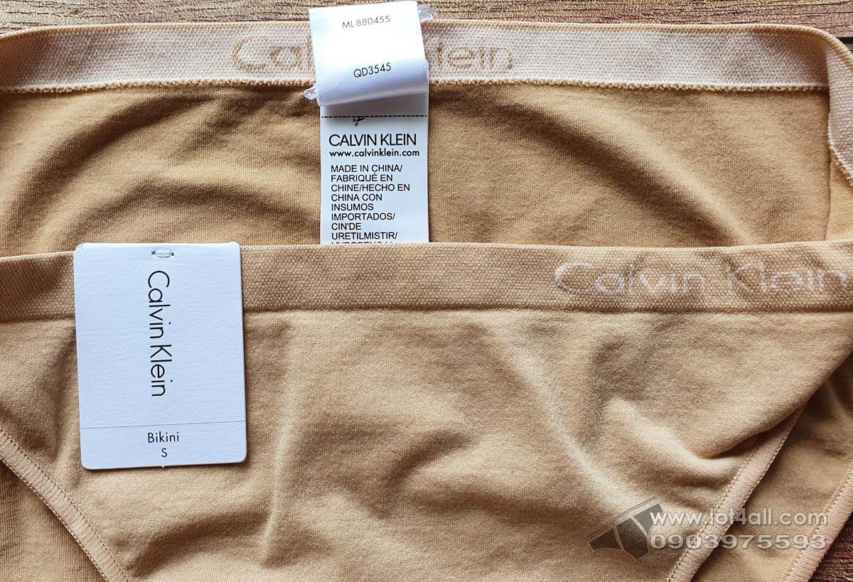 Quần lót nữ Calvin Klein QD3545 Pure Seamless Bikini Bare Nude