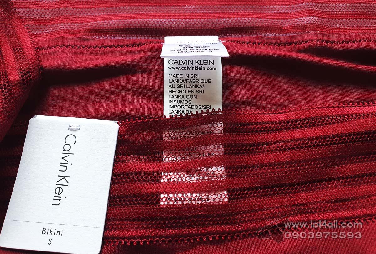 Quần lót nữ Calvin Klein QD3671 Ultra-Soft Modal Bikini Raspberry Jam