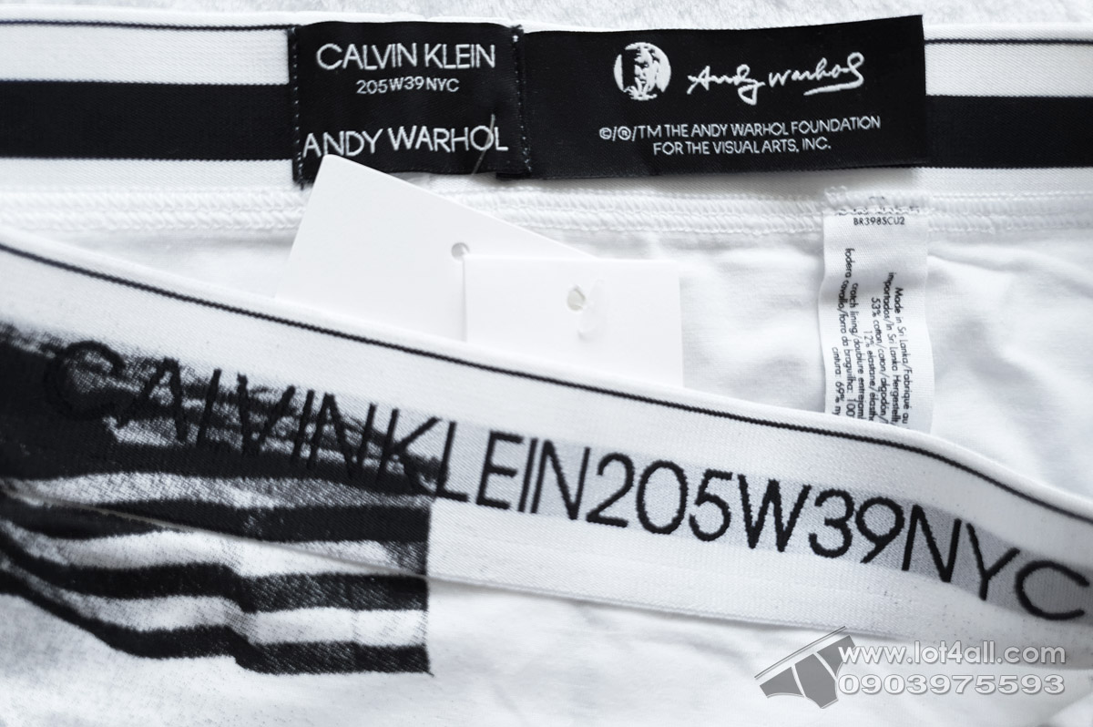 Quần lót nữ Calvin Klein QF4577 205W39NYC Logo Bikini Flag