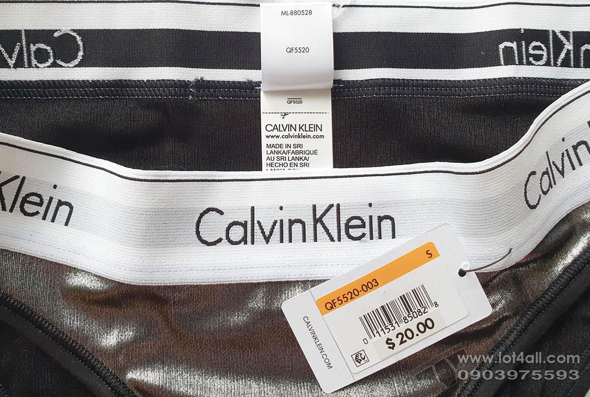 Quần lót nữ Calvin Klein QF5520 Modern Wet Look Bikini Clear