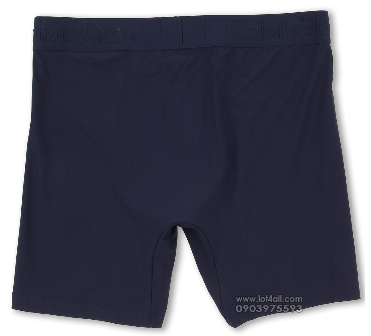 Quần lót Calvin Klein U1752 Black Luxurious Micro Boxer Brief Blue