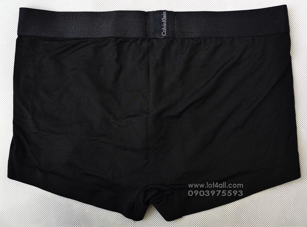 Quần lót nam Calvin Klein U8659 Tech Fusion Micro Low Rise Trunk Black