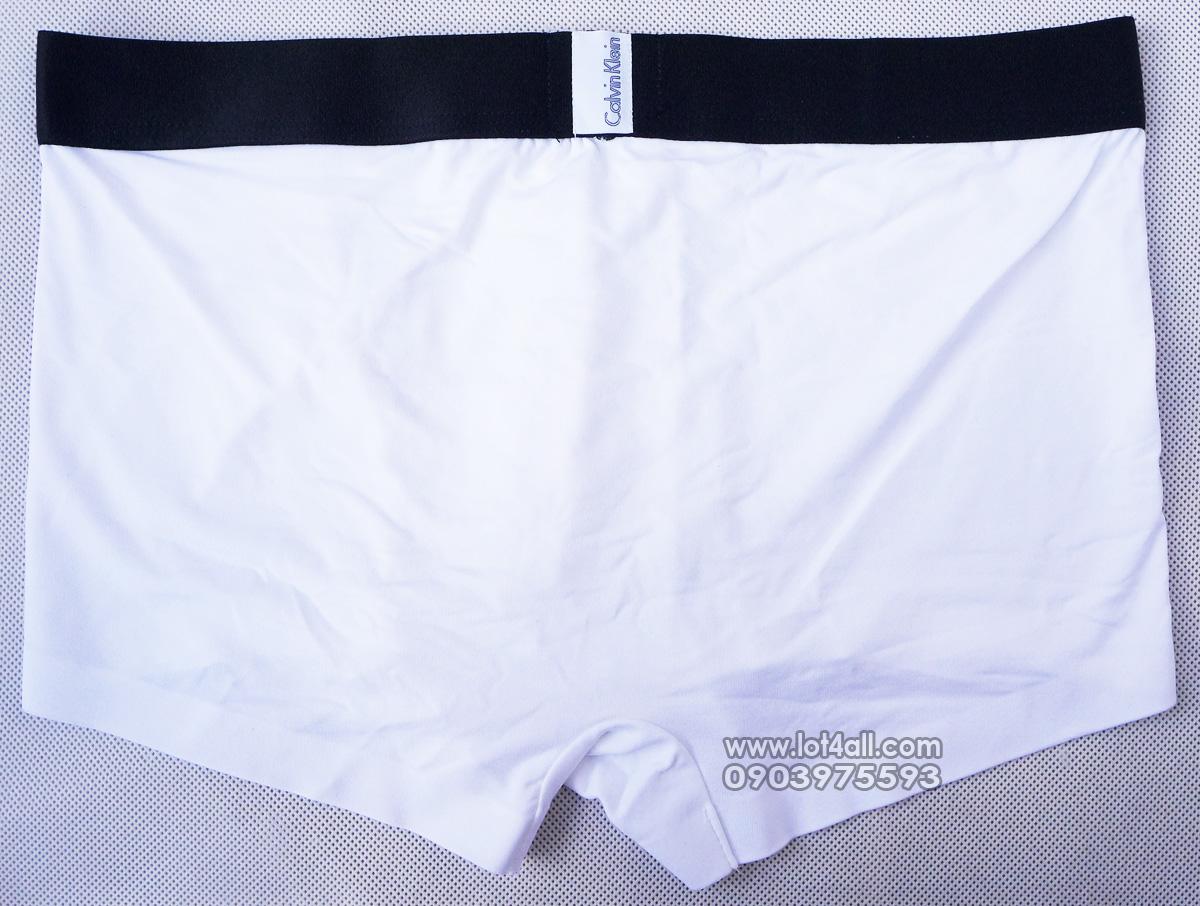 Quần lót nam Calvin Klein U8659 Tech Fusion Micro Low Rise Trunk White