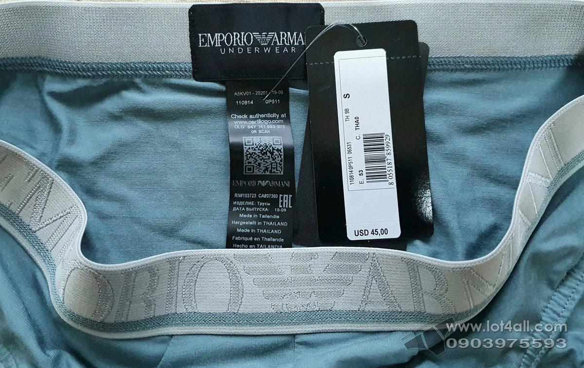 Quần lót nam Emporio Armani Soft Modal Brief Dolphin