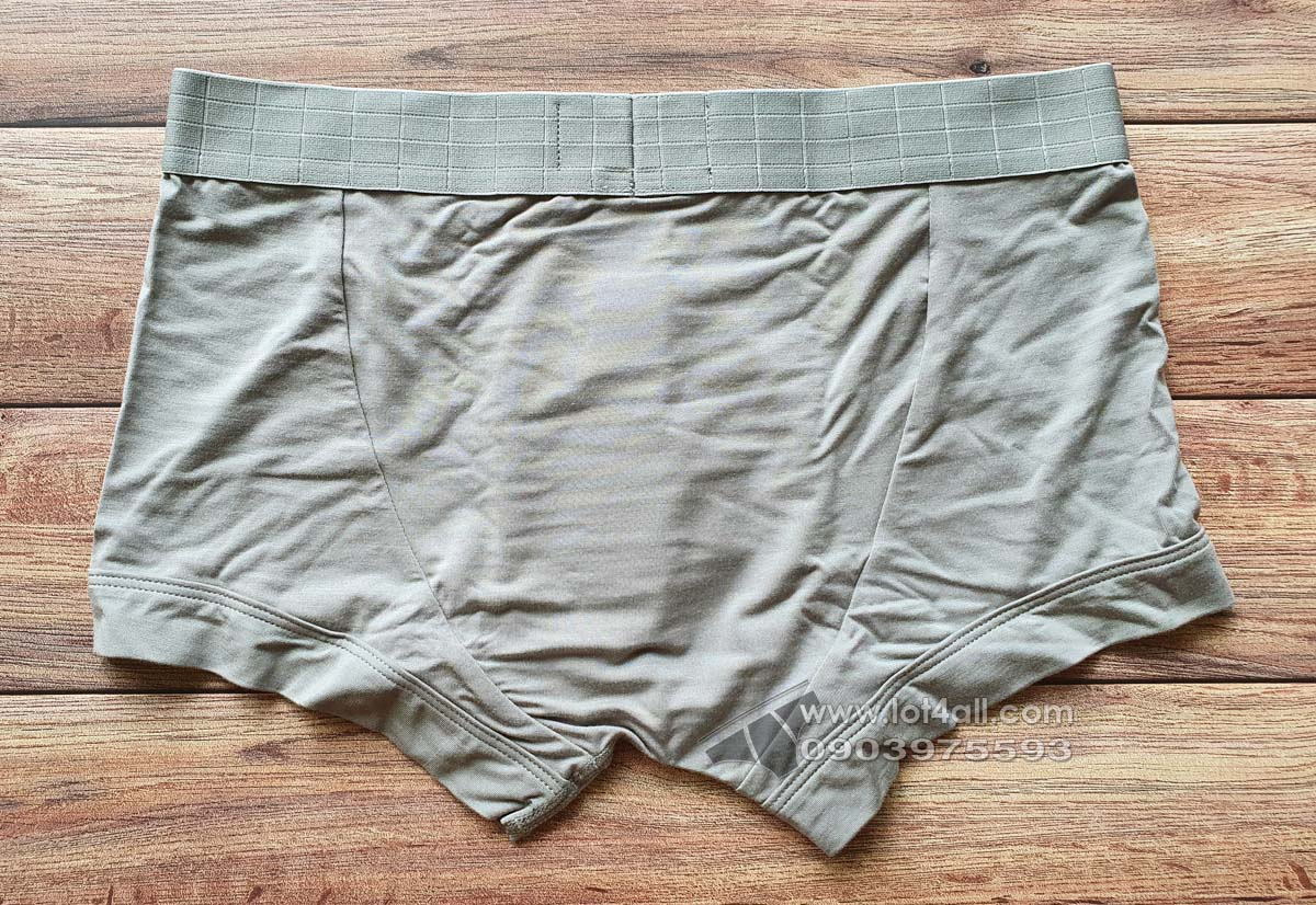 Quần lót nam Emporio Armani Iconic Soft Modal Trunk Steel