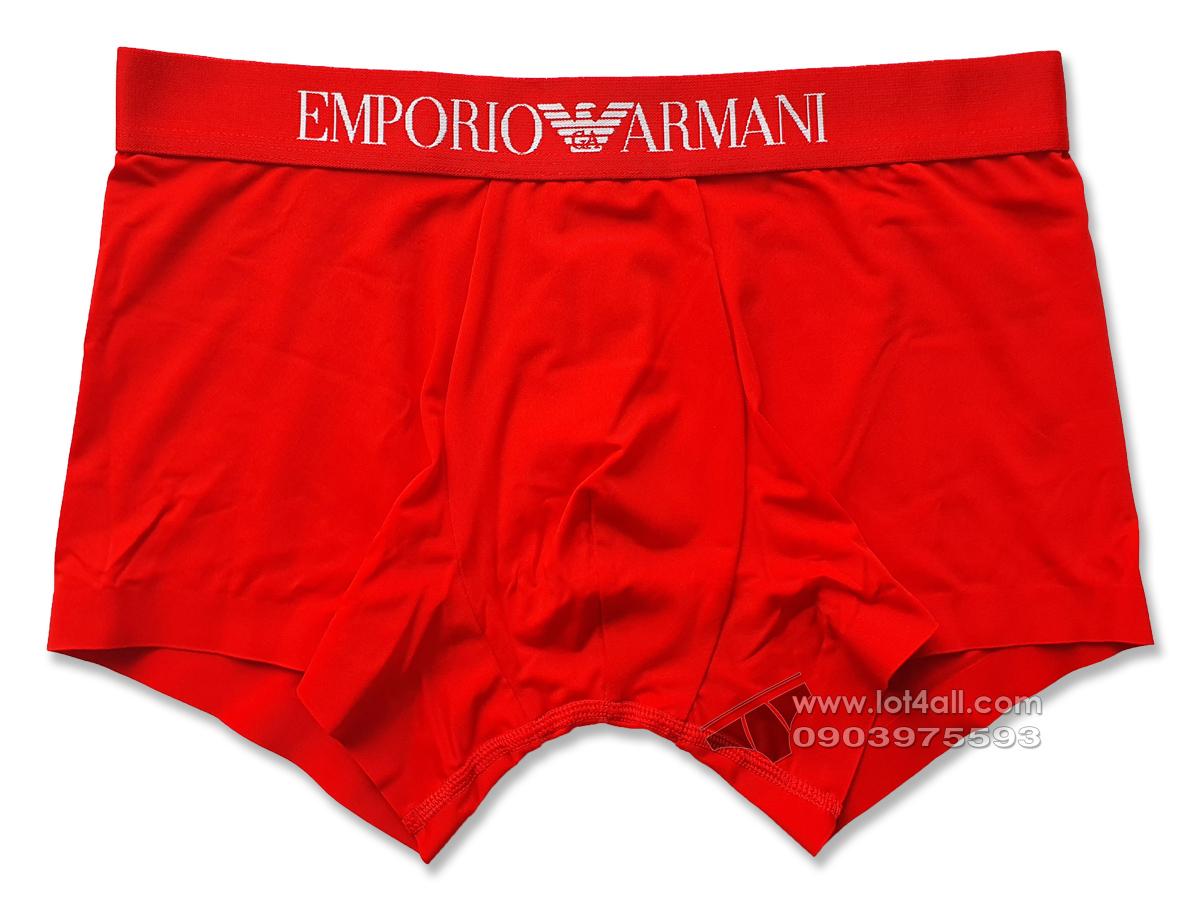 Quần lót nam Emporio Armani Second Skin Microfiber Trunk Ruby