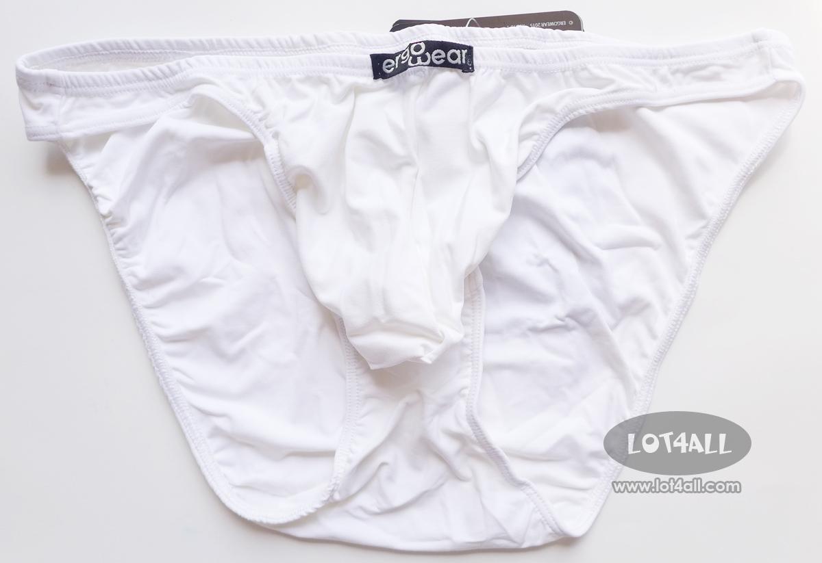 Quần lót cao cấp ErgoWear 0101 X3D Bikini White
