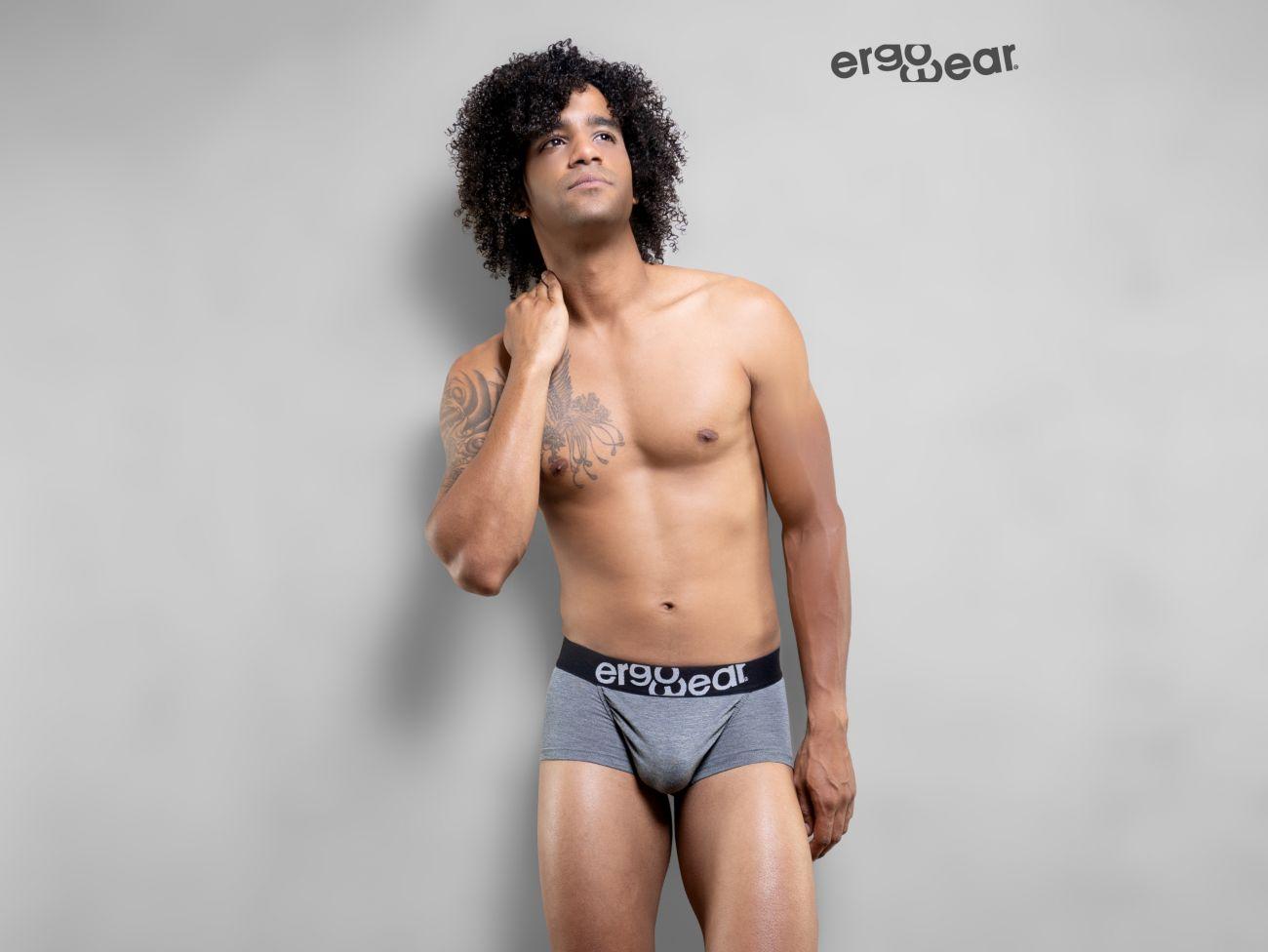 Quần lót nam Ergowear EW1030 FEEL Modal Trunk Gray