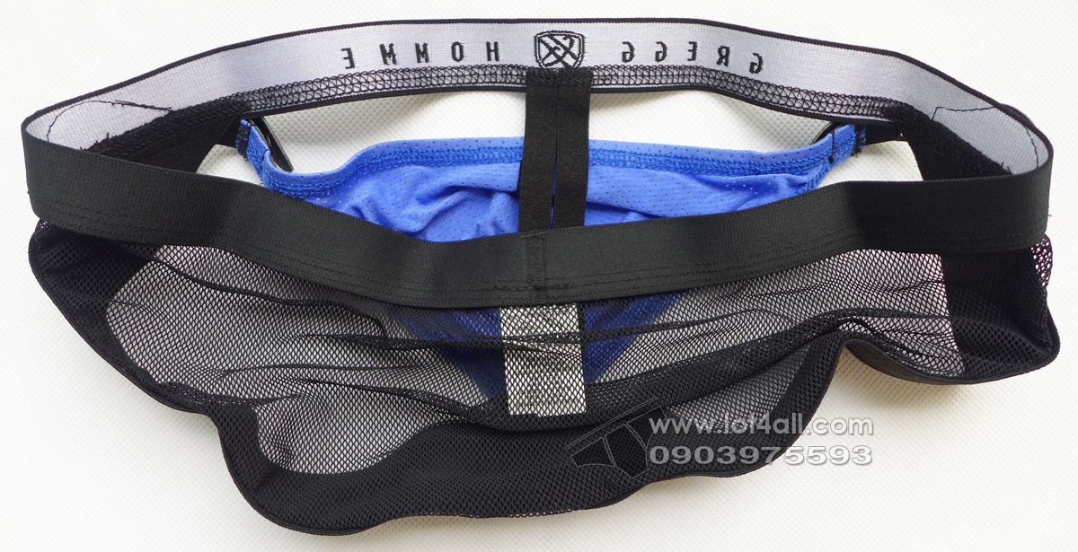 Quần lót nam Gregg Homme Chaser C-Ring Detachable Pouch & Butt Lift Blue