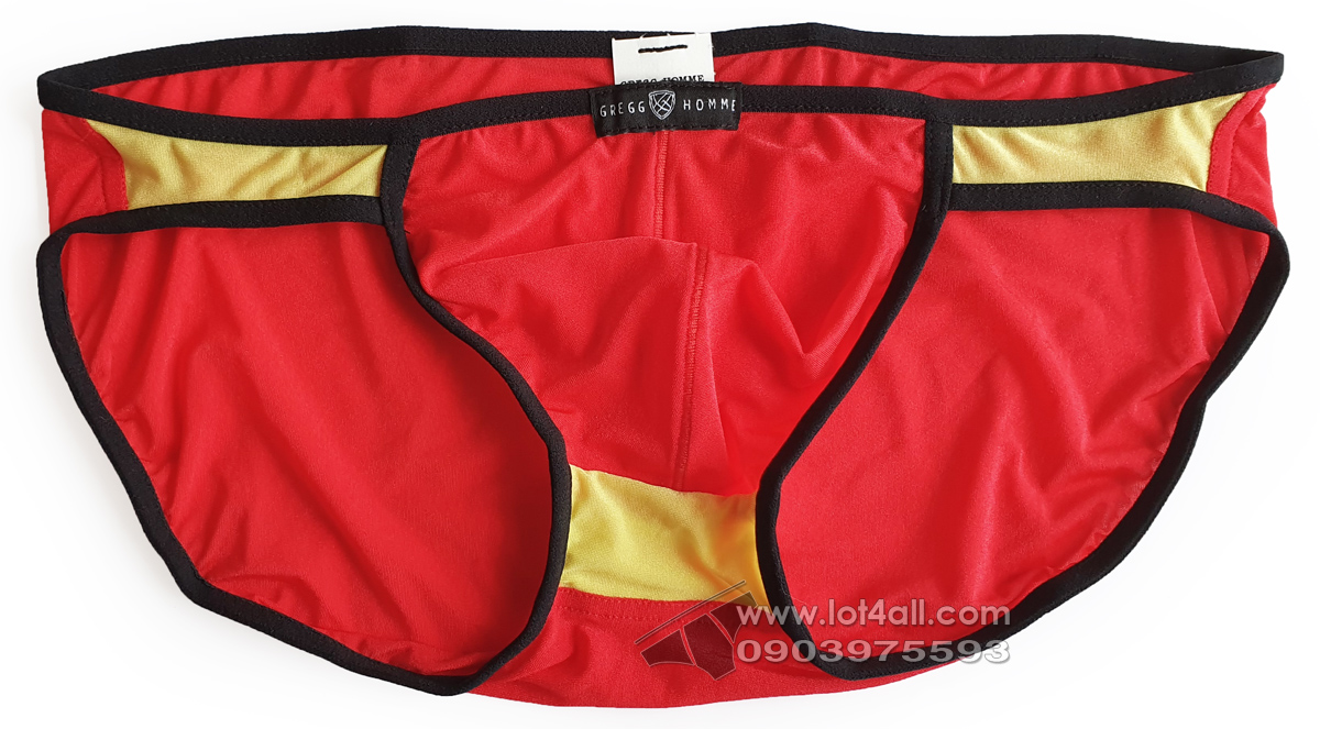 Quần lót nam Gregg Homme Super Ero Brief Red