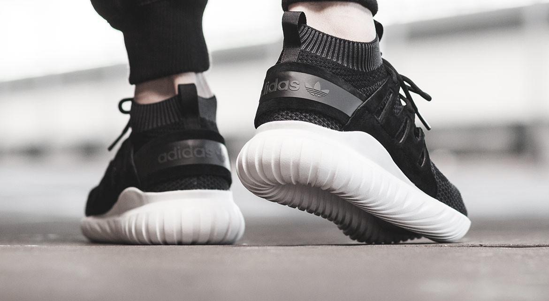 Giày nam Adidas Tubular Nova Primeknit Core Black Grey White