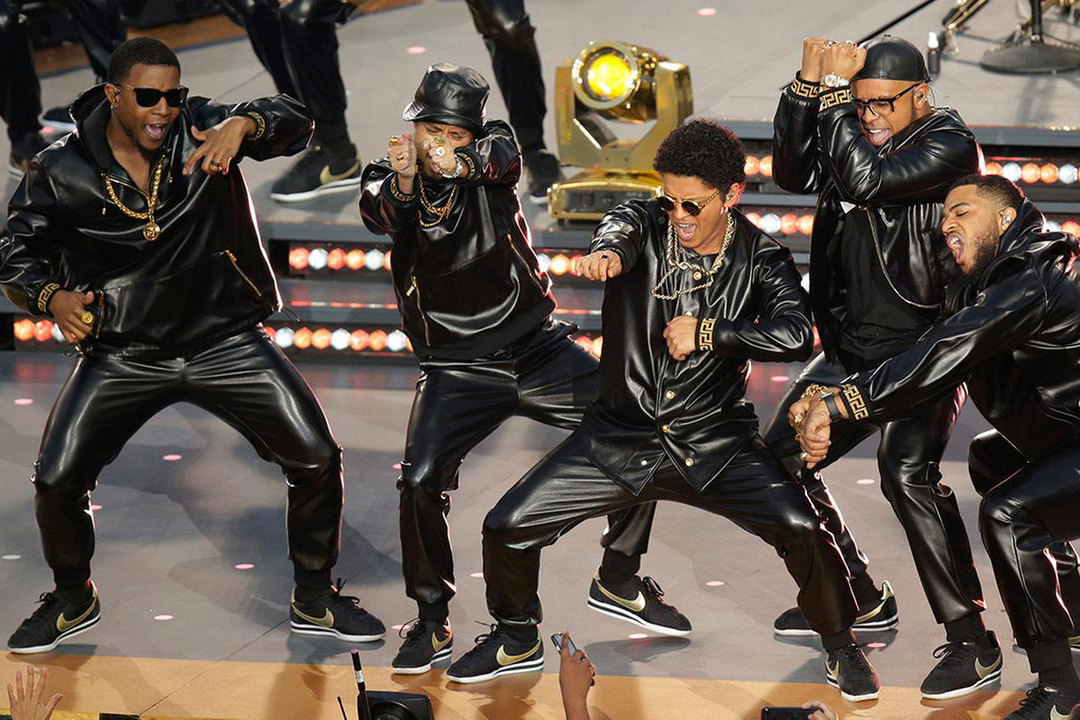 Giày nam Nike Cortez Ultra QS Black Metallic Gold - Bruno Mars
