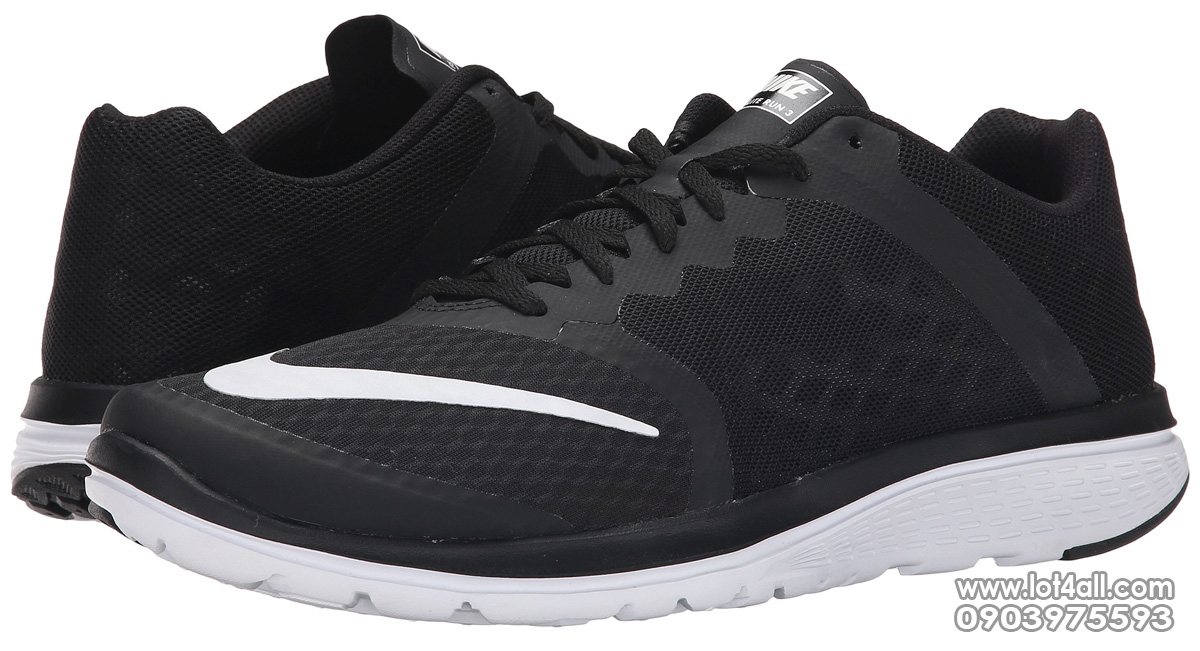 Giày nam Nike FS Lite Run 3 Black