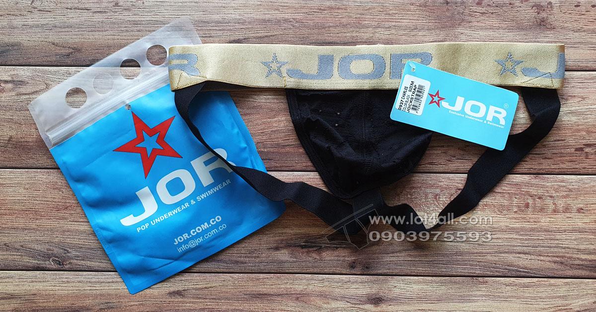 Quần lót nam JOR 0937 Charles Jockstrap Black