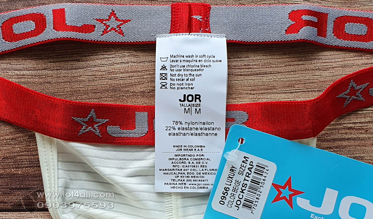 Quần lót nam JOR 0956 Luxury Jockstrap Beige