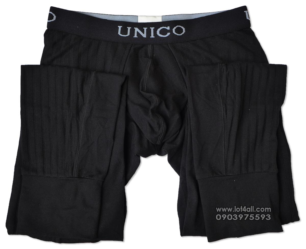 Quần lót nam cao cấp Mundo Unico 9610110199 Intenso Long Johns Black