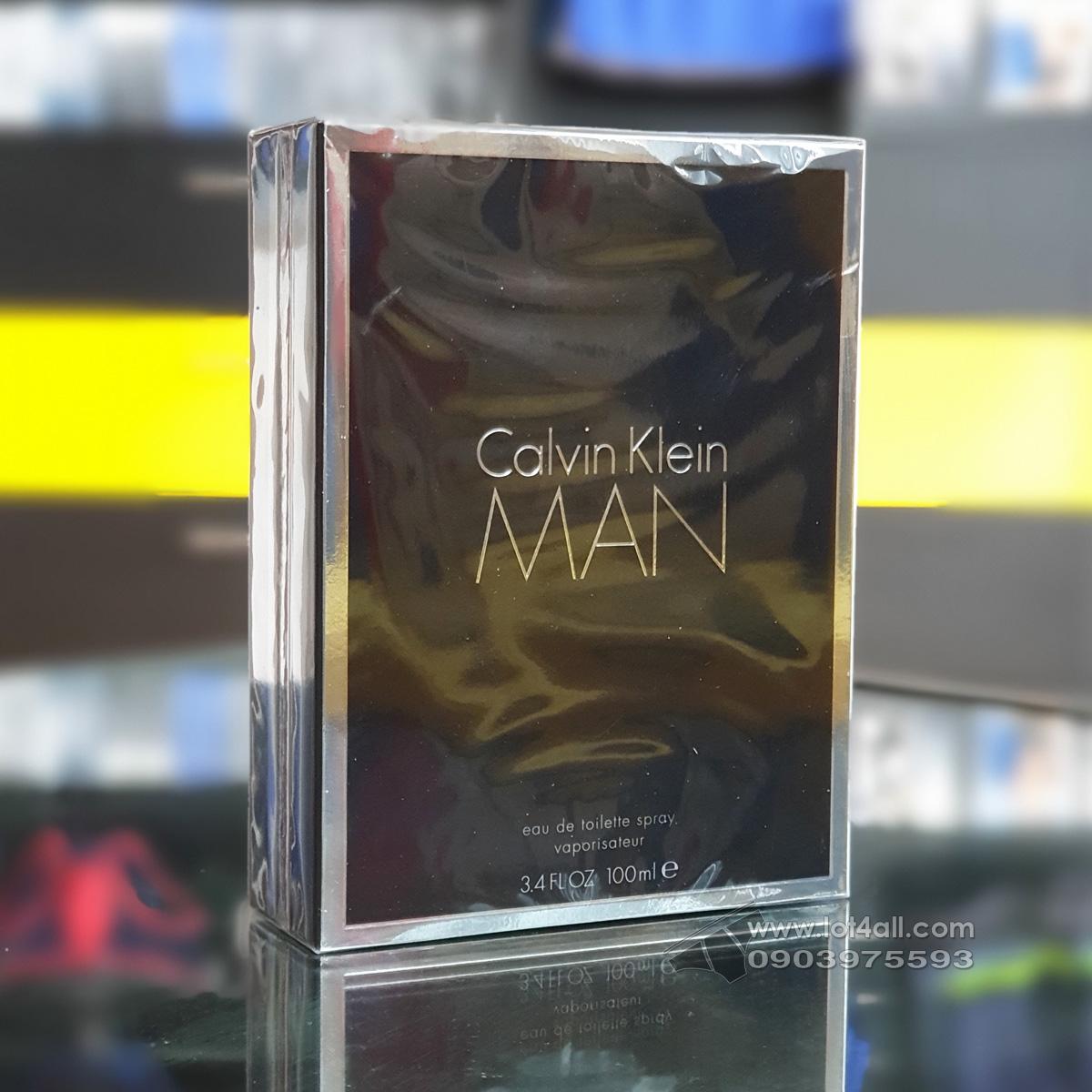 Nước hoa nam Calvin Klein MAN 100ml