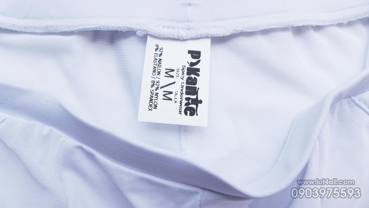 Quần lót nam Pikante 8403 Kraken Eye Latin Boxer White