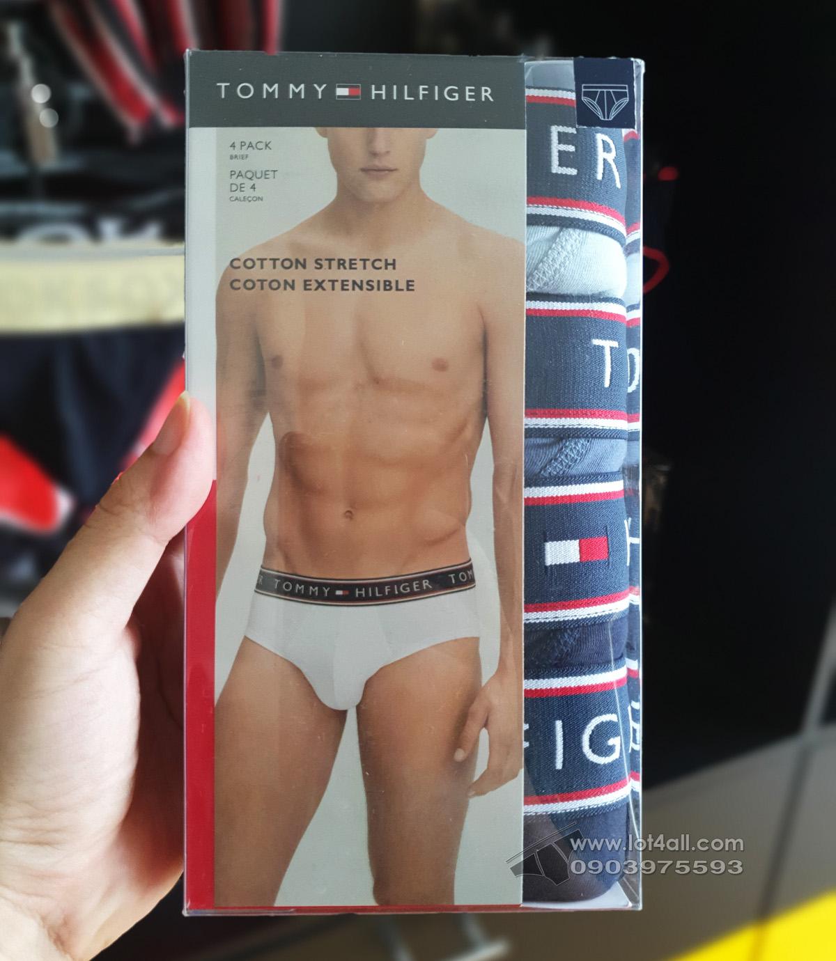 Quần lót nam Tommy Hilfiger Cotton Stretch Brief 4-pack Multi